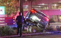 Overnight rollover at North Star Mall