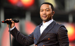 John Legend teams up with Pampers to provide 5,000 changing tables in men's restrooms