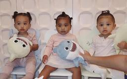 True Thompson, Stormi Webster and Chicago West Could Be Triplets In Kylie Jenner's New, Precious Photo