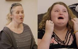 Honey Boo Boo tearfully pleads with Mama June to get help during family intervention