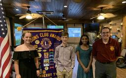 Ryan Gloyer Middle School students honored by Lions Club