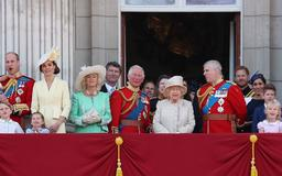 Why Prince Harry and Meghan Markle Stood Behind Royal Family on Palace Balcony