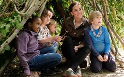 Kate Middleton to launch Blue Peter competition for sculpture to go in Back To Nature garden