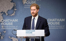 Prince Harry follows in Princess Diana's footsteps as he calls for the removal of landmines