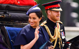 Meghan Markle Returns To Royal Duty at Trooping the Colour, Days After Trump Leaves U.K.