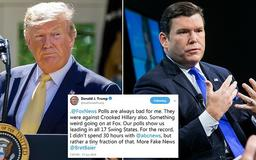 'Something weird going on at Fox': Trump slams his favorite cable network after Bret Baier's 'fake news' report about network's own polls which show president trailing Joe Biden and other Democrats
