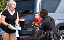 Traffic stop turns into marriage proposal