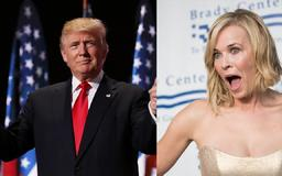 Chelsea Handler calls for Trump's impeachment for saying semi-automatic guns are 'entertainment'