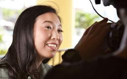 Awkwafina is Festival's Shining Star: It's all about family for Awkwafina