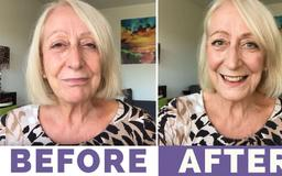 """My Fab Makeup for Mature Women: """"Less is More"""" Summer Look and Tutorial"""