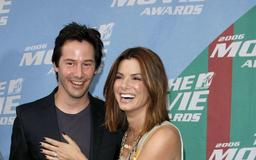 Keanu Reeves and Sandra Bullock secretly crushed on each other circa 'Speed,' plus more news