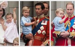 See Princess Diana, Kate Middleton, and More Royals' First Appearances at Trooping the Colour