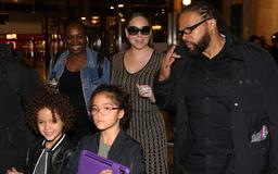 Little Wanderlusts — Mariah Carey and Twins Moroccan and Monroe, 8, Arrive in Paris for Her Tour