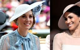 Kate Middleton Channeled Meghan Markle at the Royal Ascot Races