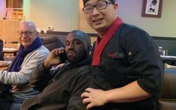 Kanye West apparently spent his 42nd birthday in Flagstaff, Arizona