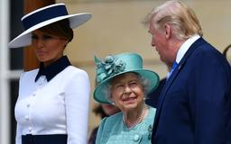 Melania Trump's sweet fashion nod to Princess Diana at Buckingham Palace