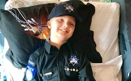 Sacramento boy with rare illness fulfilling his dream of becoming a police officer
