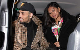 Ammika Harris Shows Off Flat Stomach In New Pic After Report She's Pregnant With Chris Brown's Baby