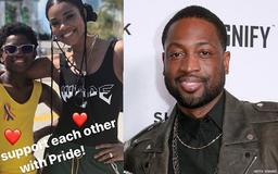 Dwayne Wade Shuts Down Criticism for Supporting His Son at Pride