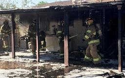 House fire reported in northeast El Paso