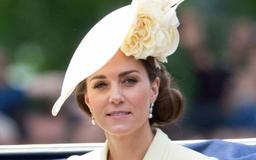 Kate Middleton Recycles Her Fascinator From Prince Harry & Meghan Markle's Wedding at Trooping the Colour