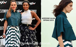 Jessica Alba & Gabrielle Union at the 'L.A.'S Finest' Madrid Photocall