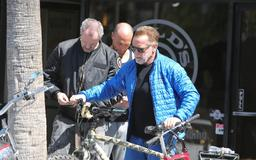 Man Reportedly Tries to Steal Arnold Schwarzenegger's E-Bike While He Was Pumping Iron
