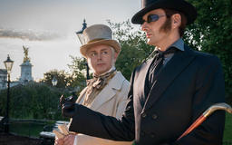 How Good Omens' costume designer dressed the show's handsome devils (and angels)