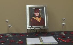 Mother accepts daughter's diploma 12 years after her death