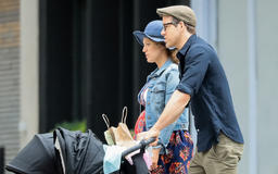 New Pics!Blake Lively's Pregnancy Glow Is on Full Display While Spotted With Ryan Reynolds and Their 2 Daughters