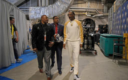 Photos: Snoop Dogg, Tim Cook and Al Attles among diverse group of stars at NBA Finals Game 4