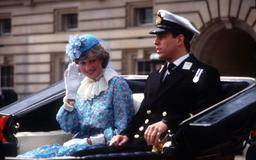 Princess Diana's first chilling Trooping the Colour experience was very different to Meghan and Kate's