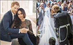 Prince Harry and Meghan Markle 's private wedding pictures leaked by photographer's hackers