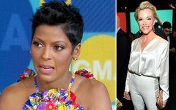 Tamron Hall says she was in disbelief when NBC ditched her for Megyn Kelly after 25-year career and reveals how her uneducated, sharecropper grampa and teen mom inspired her TV return