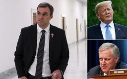 Lone Republican who called for Trump's impeachment QUITS right-wing House Freedom Caucus after president brands him a 'loser' and a 'lightweight'