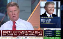 The 3 most perplexing things Trump said in a confounding CNBC interview this morning