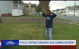 Woods Cross Police: officer pointed gun at 10-year-old because he matched suspect description, didn't comply