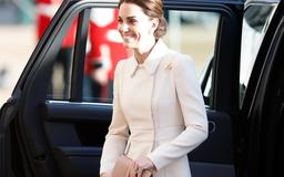 Kate Middleton rewore a $4,000 Catherine Walker coat for a surprise appearance in London