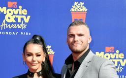 Jenni 'JWoww' Farley and Boyfriend Zack Clayton Carpinello Make MTV Red Carpet Debut: Pics!