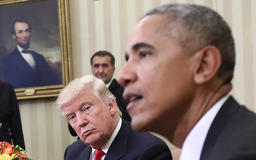 Trump claims 'a National Holiday would be immediately declared' if Obama made the deals he has