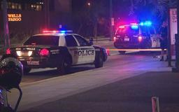 Mesa police officer hits suspect with patrol vehicle