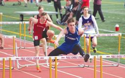 Jack Haussner finishes second at state in the 110-meter hurdles