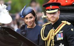 A Lip Reader Revealed What Prince Harry Said to Meghan Markle During Their Trooping the Colour Carriage Ride