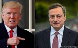 Donald Trump takes aim at Mario Draghi over interest rates