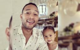 Singer John Legend and His Daughter Luna Share a Love of Music and Dancing. They Use Both to Bond