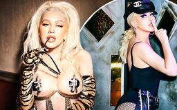 'I'm in fun mode now': Christina Aguilera goes back to her Dirrty roots as she talks new Vegas residency and why she's glad she left The Voice