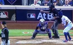 VIDEO: Umpire Mike Winters Calls the Worst Strike 3 of All Time Against Mets' Amed Rosario