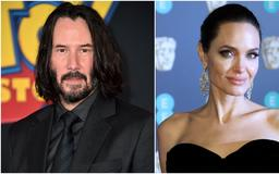 Here's What Keanu Reeves Had to Say About Those Angelina Jolie Dating Rumors