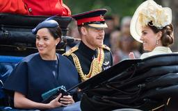 Breaking: Meghan Markle Just Made Her First Post-Baby Appearance at Trooping the Colour