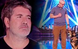 Dog Magician Makes Simon Cowell Cry During Audition